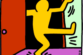 Coming Out Day by Keith Haring