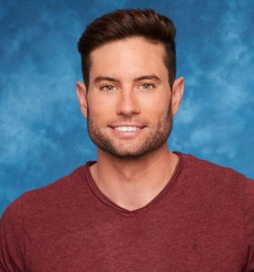Bryce, competidor no reality show The Bachelorette.
